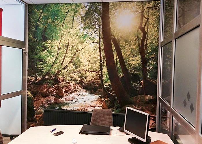 Fotobehang kantoor